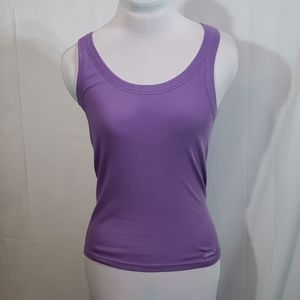 EUC Calvin Klein Purple Cotton Tank Top Medium